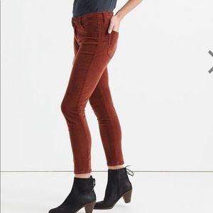 Lucky Brand Lolita midrise Vino Corduroy pants 6